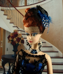 "2013 Live Auction Doll ""Tangled Up In Blue"""
